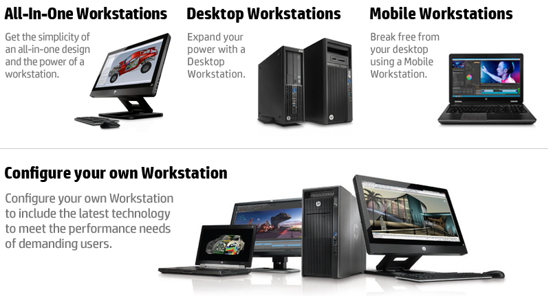 HP-Workstations